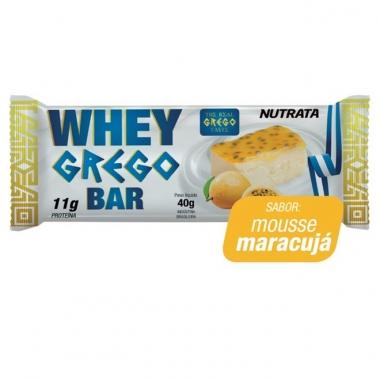 Whey Grego Bar Nutrata (unidade) - 40g