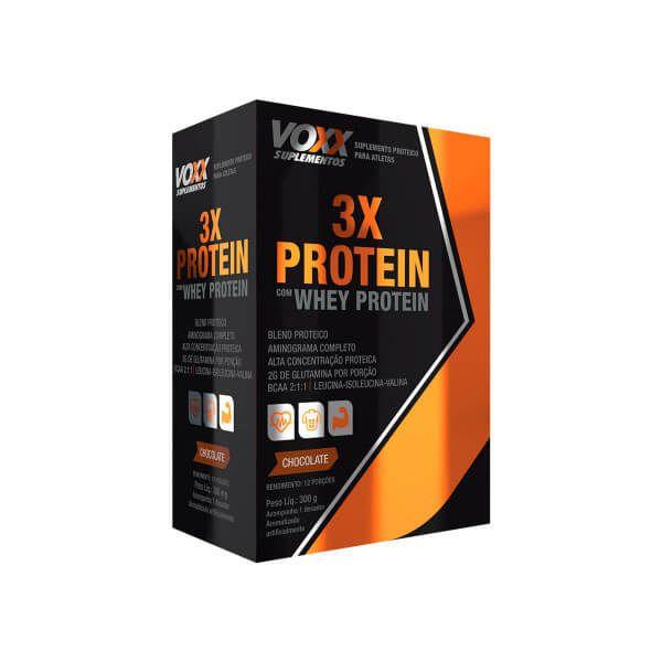 3X Protein Voxx Suplementos - 300g