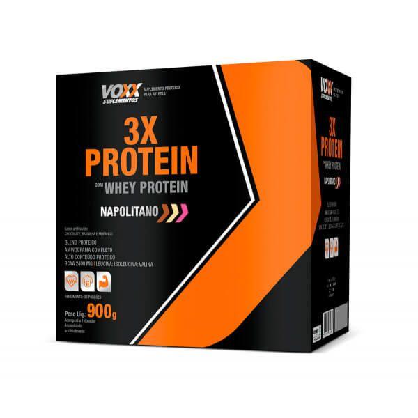 3X Protein Voxx Suplementos 900g