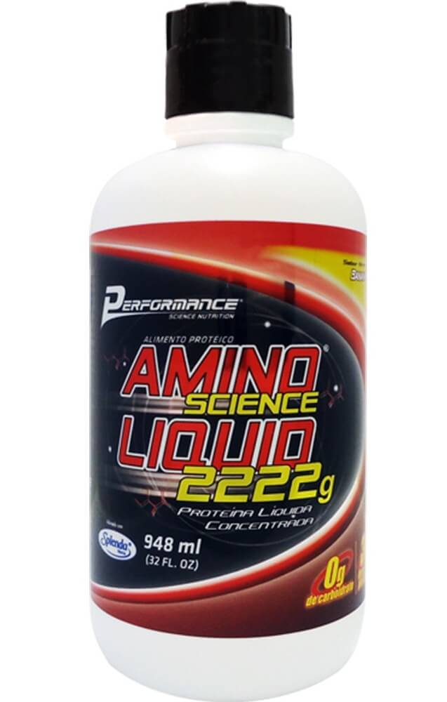 Amino Liquid 2222g Performance Nutrition - 474ml