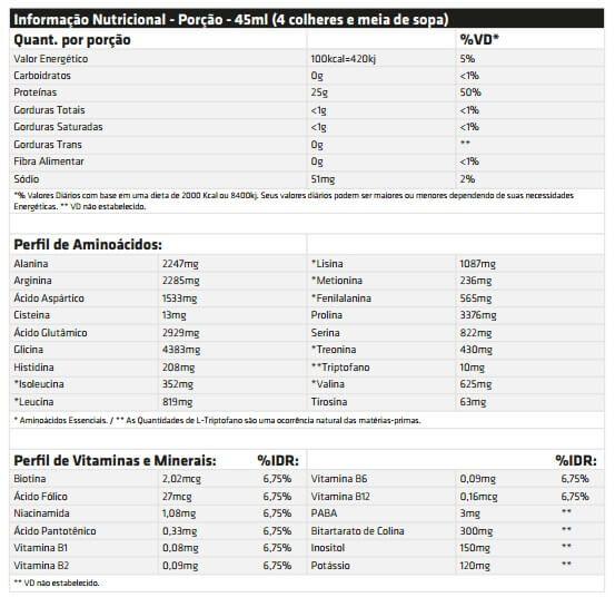 Amino Liquid 2222g Performance Nutrition - 474ml