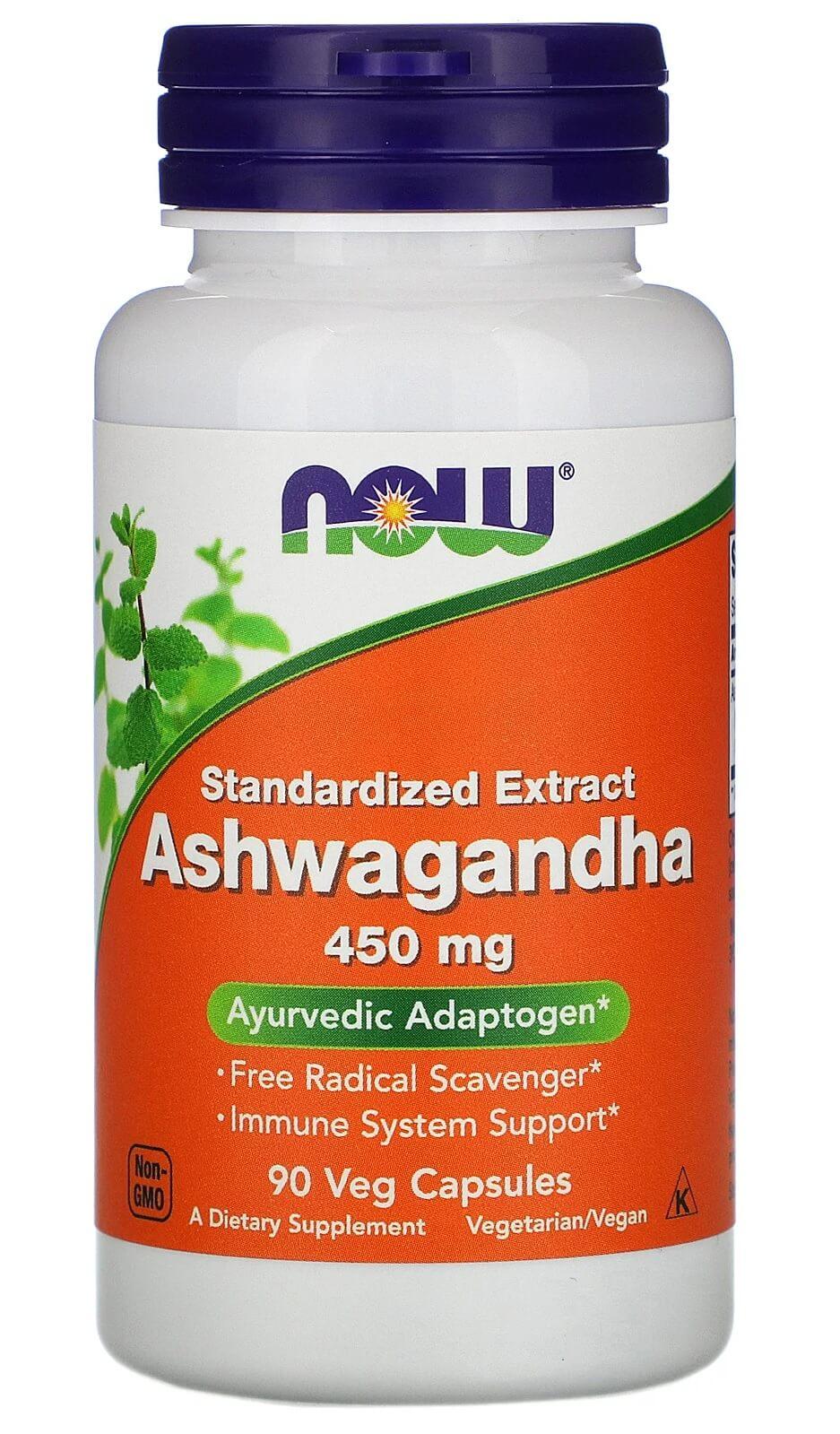 Ashwagandha 450mg Now Foods - 90 caps