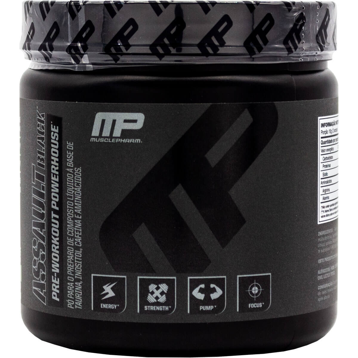 Assault Black Label Muscle Pharm - 30 doses