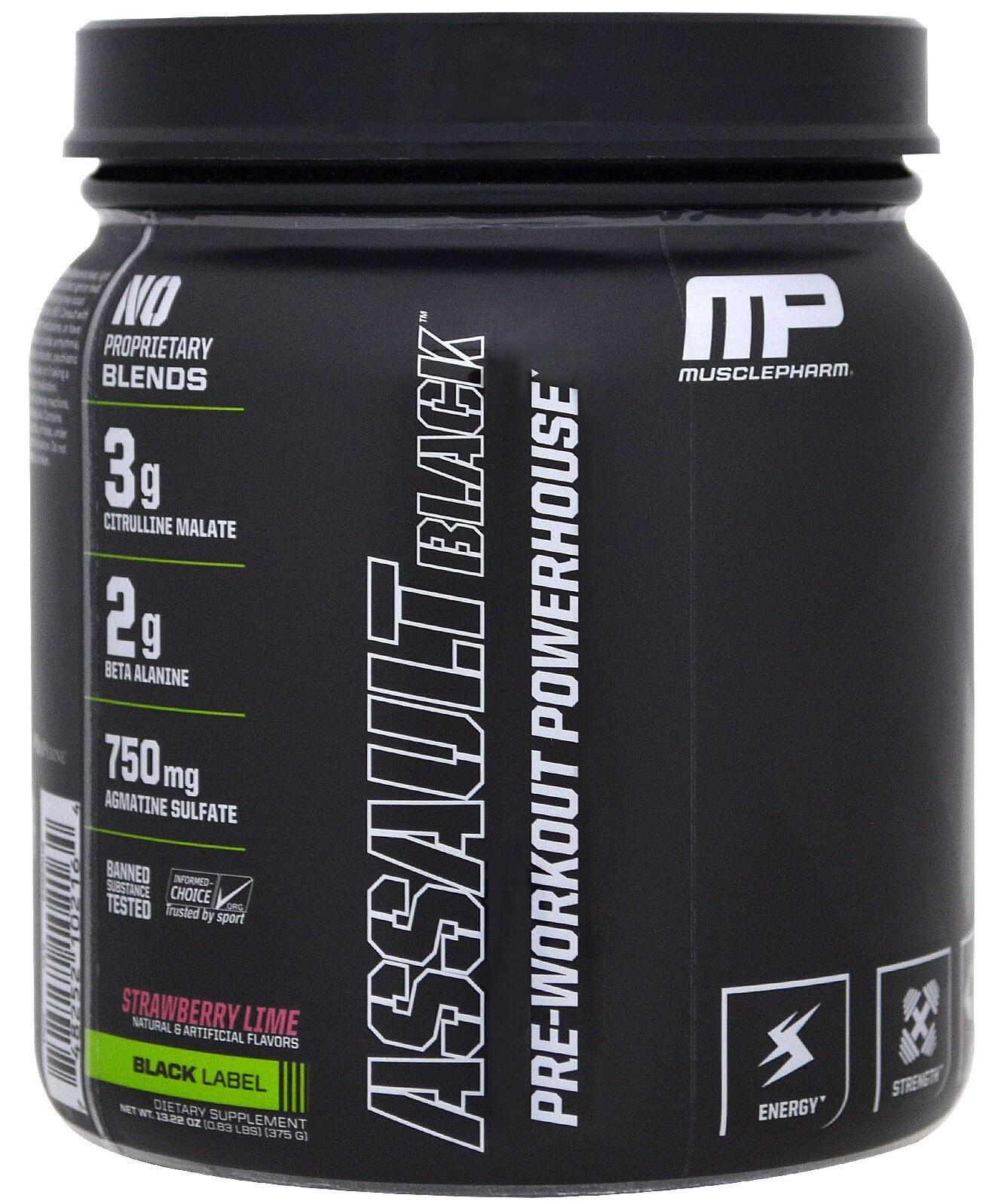 Assault Black Muscle Pharm (IMPORTADO) - 30 doses