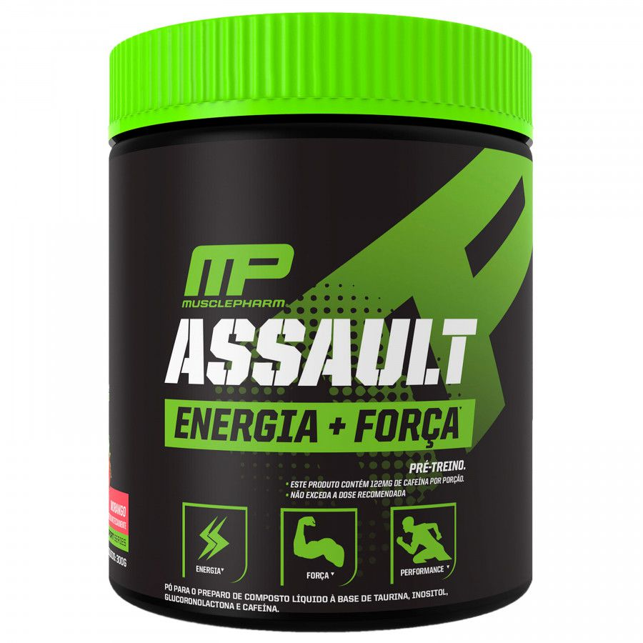 Assault Energia + Força Muscle Pharm - 30 doses