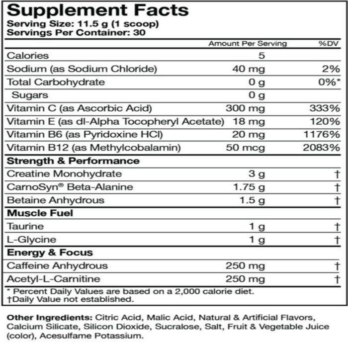 Assault Muscle Pharm (IMPORTADO) - 30 doses