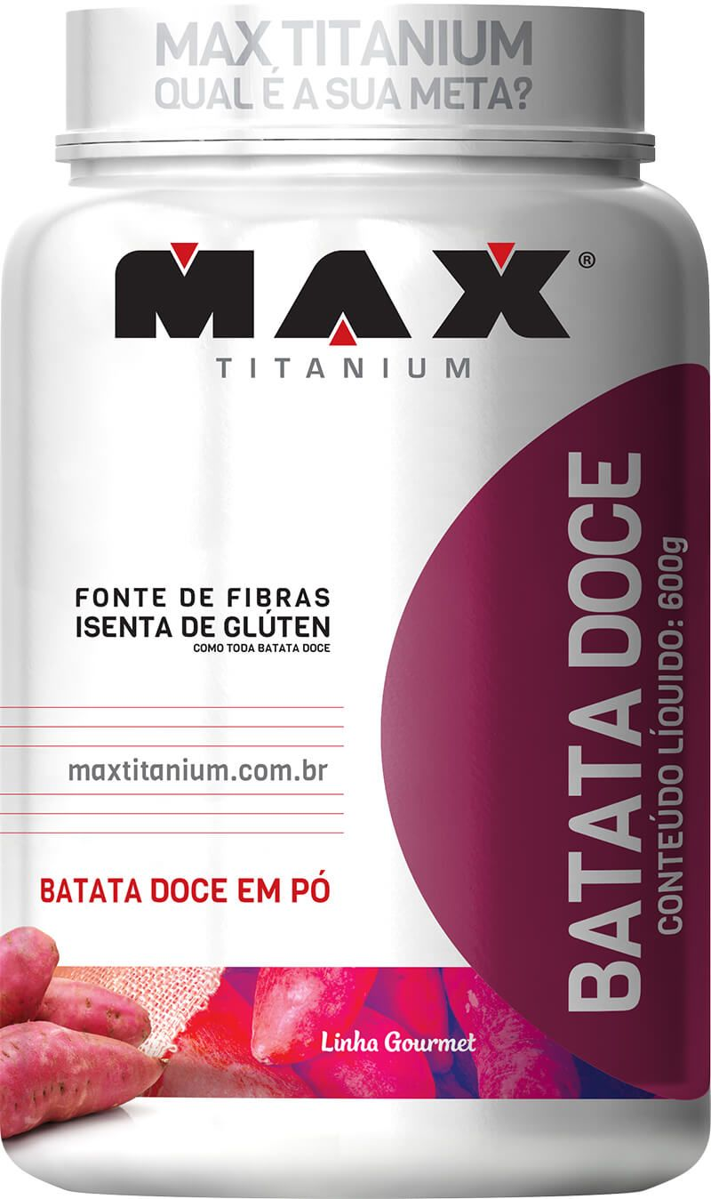 Batata Doce Max Titanium - 600g