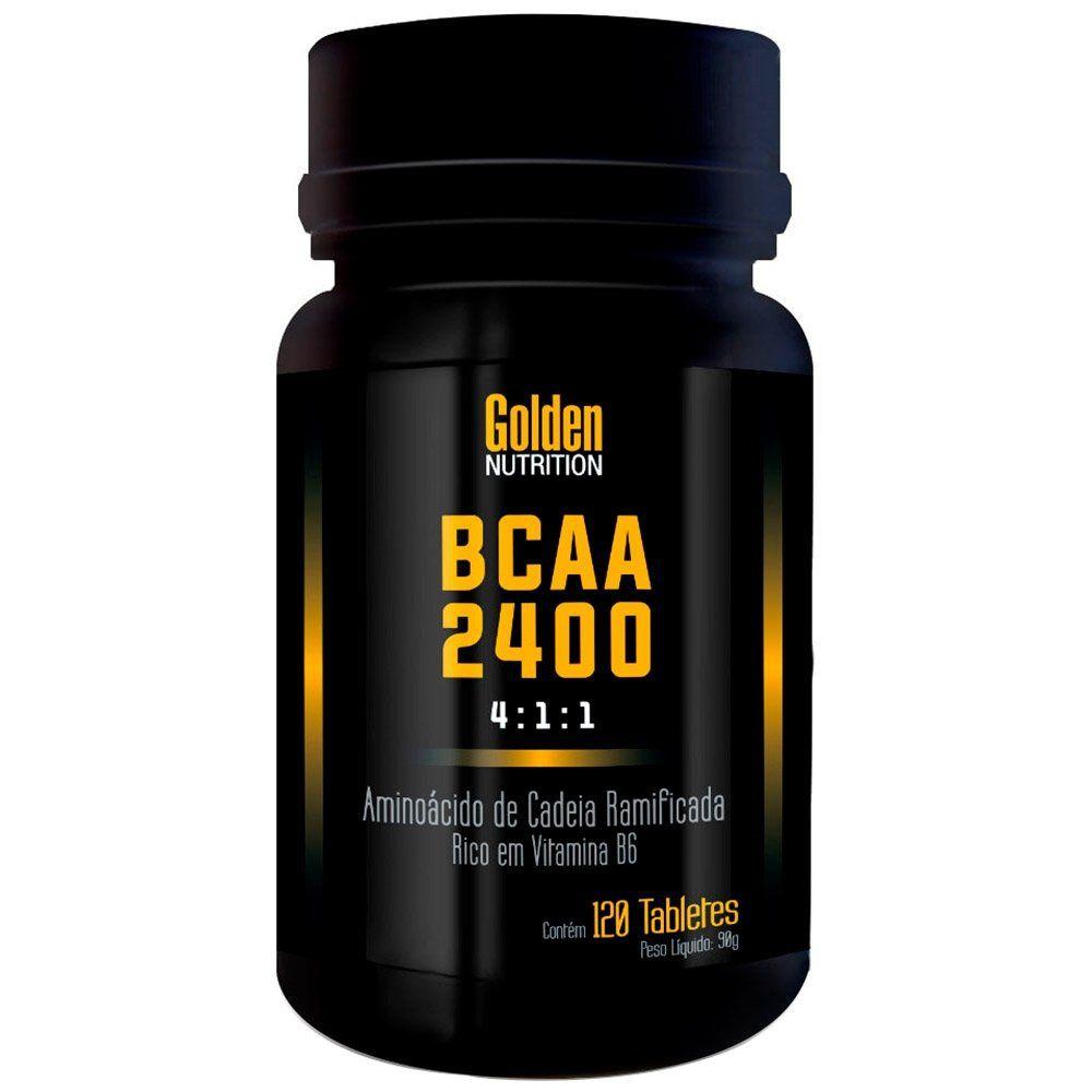 BCAA 2400 4:1:1 Golden Science - 120 tabletes