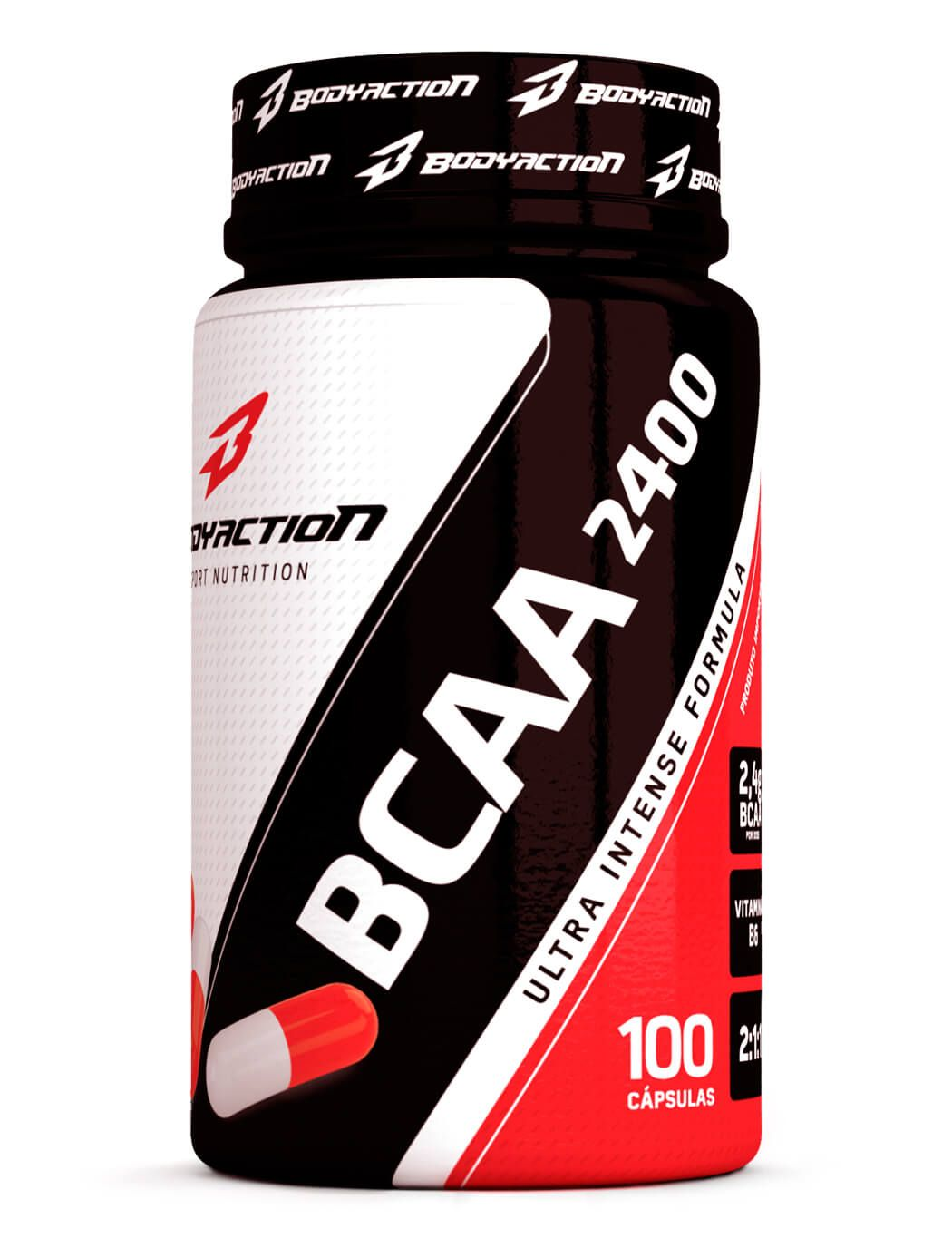 BCAA 2400 Body Action - 100 caps