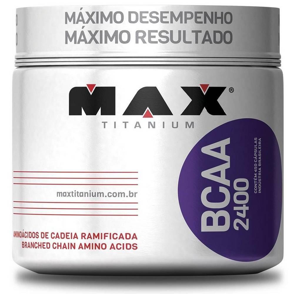 BCAA 2400 Max Titanium - 450 caps