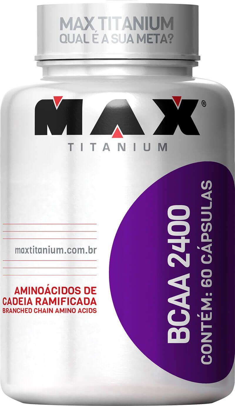 BCAA 2400 Max Titanium - 60 caps