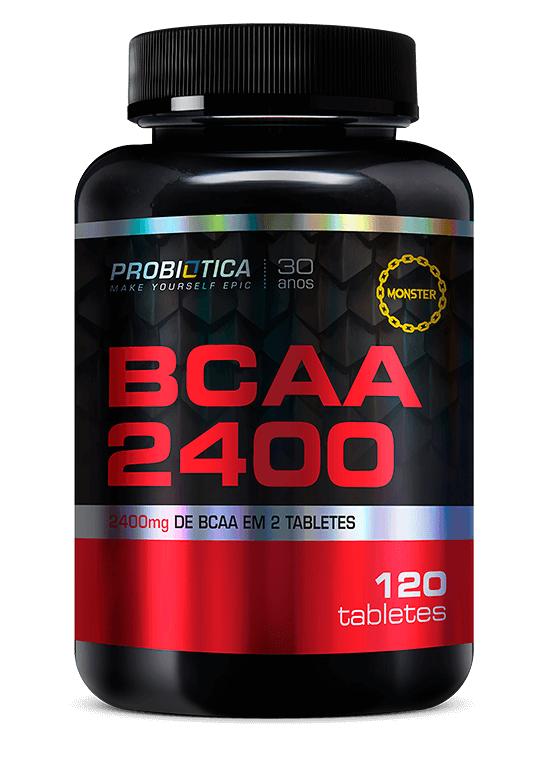 BCAA 2400 Probiotica - 120 tabletes