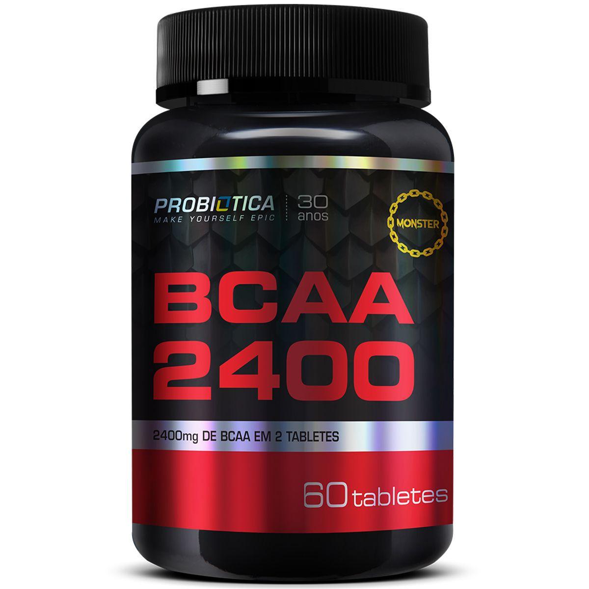 BCAA 2400 Probiotica - 60 tabletes