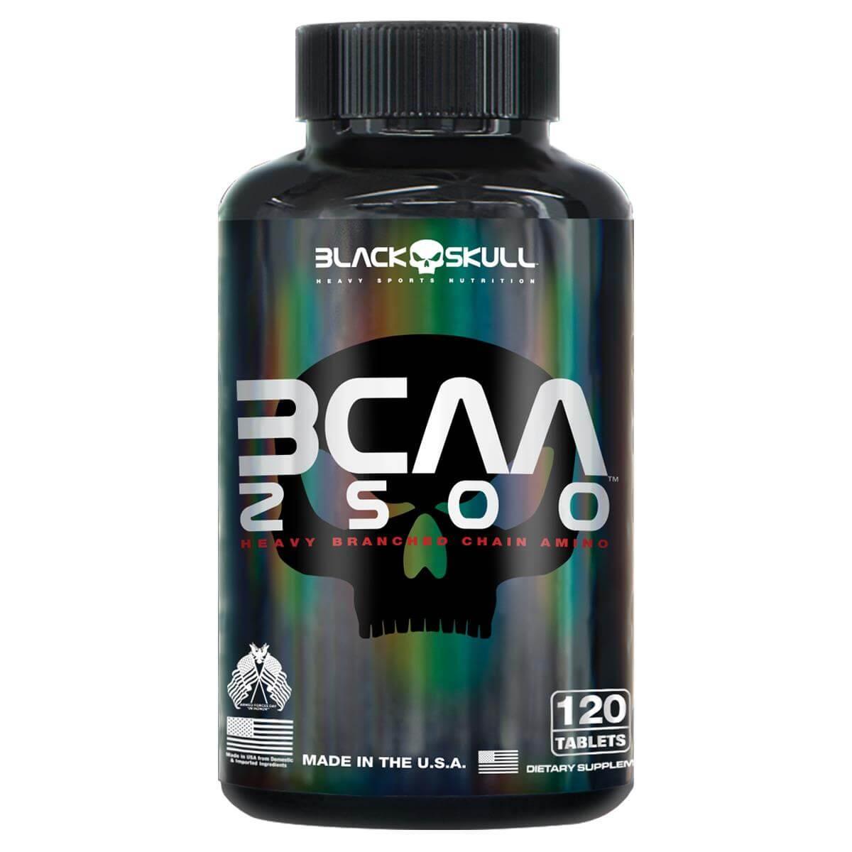 BCAA 2500 Black Skull - 120 caps