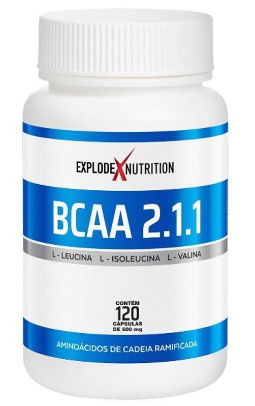 BCAA 2:1:1 Explode Nutrition - 120 caps