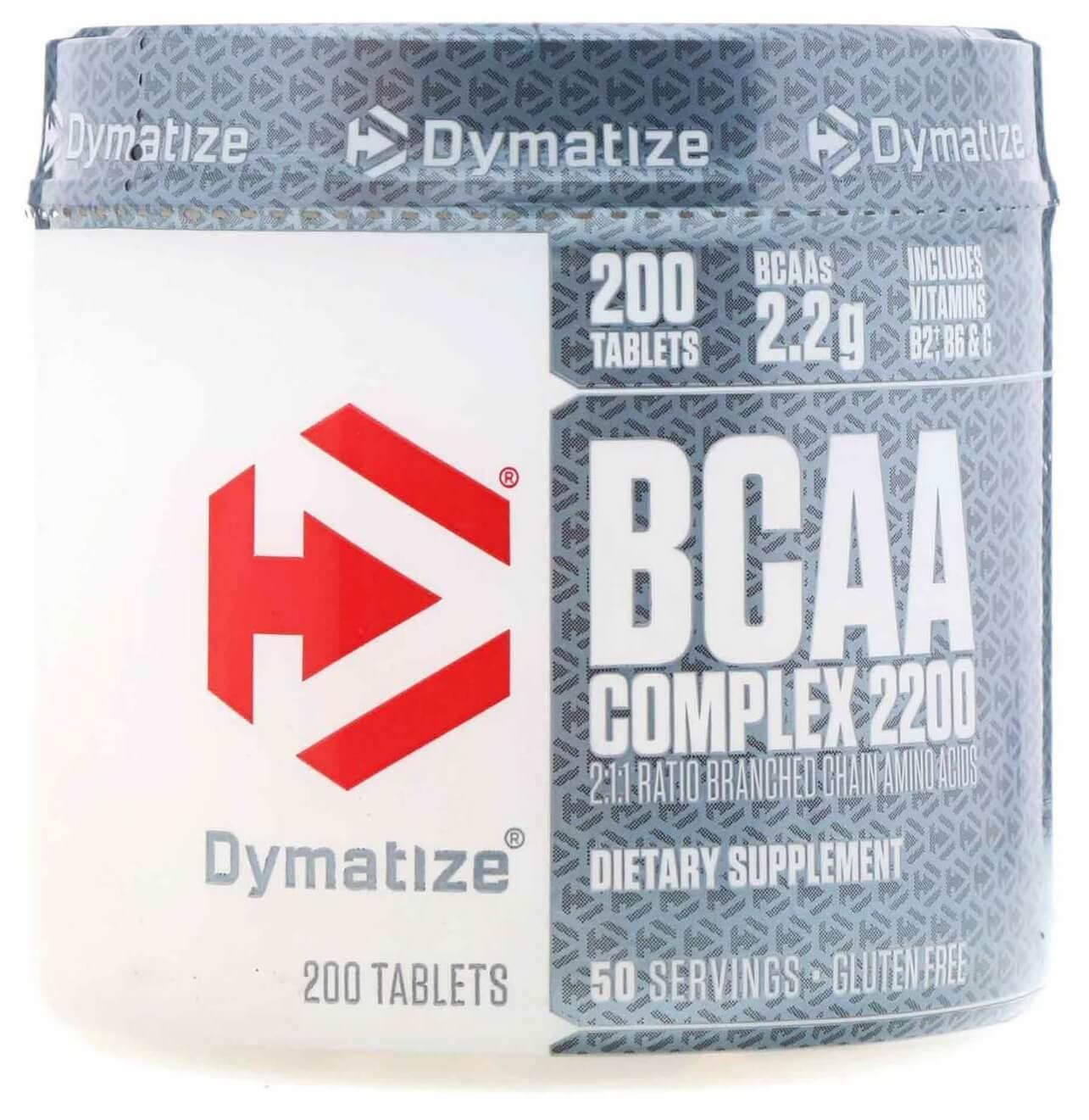 BCAA Complex 2200 Dymatize Nutrition - 200 caps