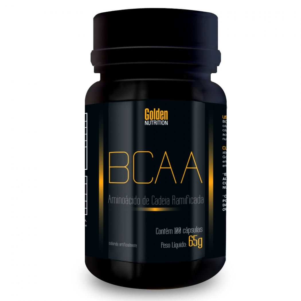 BCAA Golden Nutrition - 100 Caps