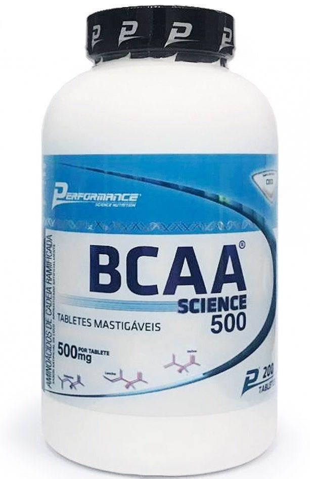 BCAA Mastigável Performance Nutrition - 200 tabletes