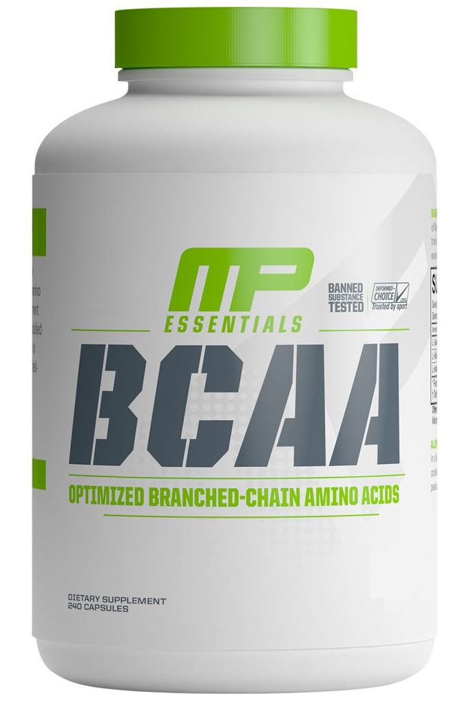 BCAA Optimized Essentials Muscle Pharm - 240 caps
