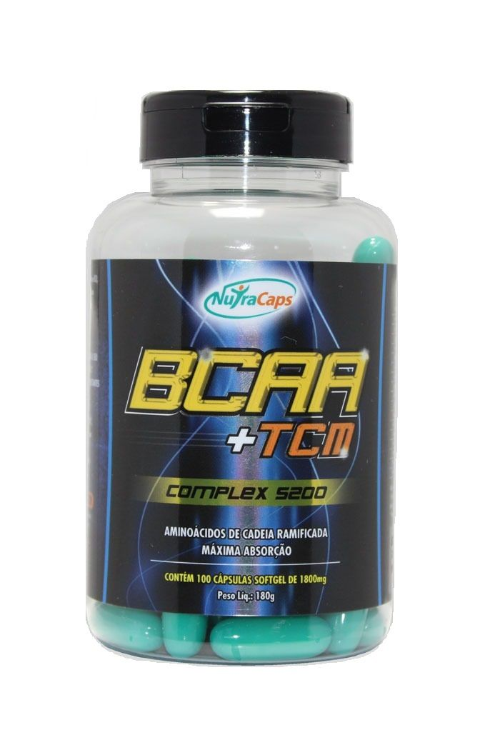 BCAA +TCM NutraCaps - 100 caps