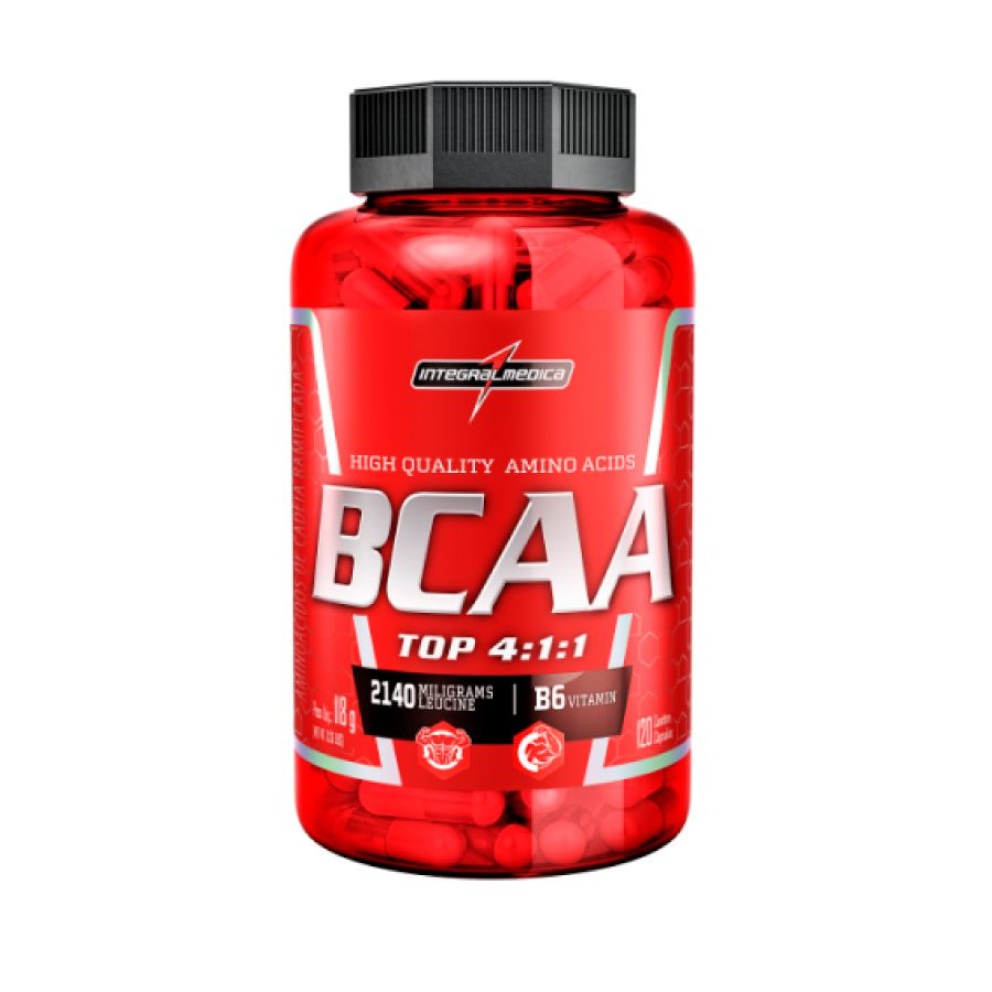 BCAA Top 4:1:1 IntegralMedica - 120 caps