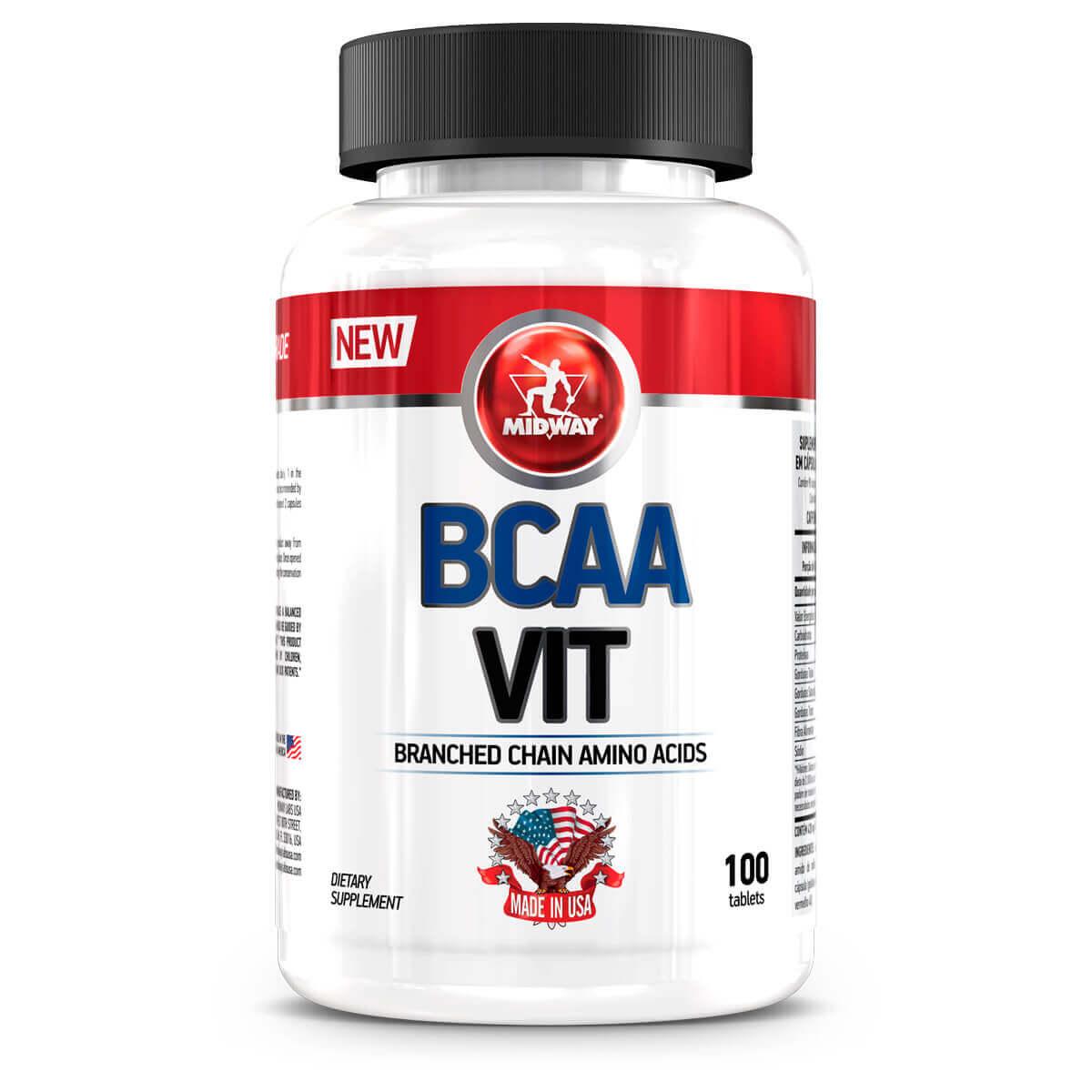 BCAA VIT Midway - 100 caps