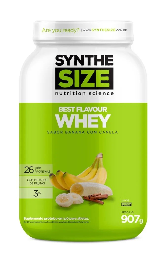 Best Flavour Whey SyntheSize - 907g
