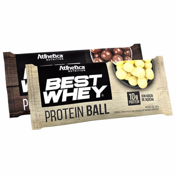 17c5f6fea Best Whey Protein Ball Atlhetica Nutrition - 50g - Real Suplementos ...