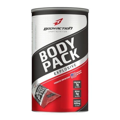 Body Pack Explosive Body Action - 44 Packs