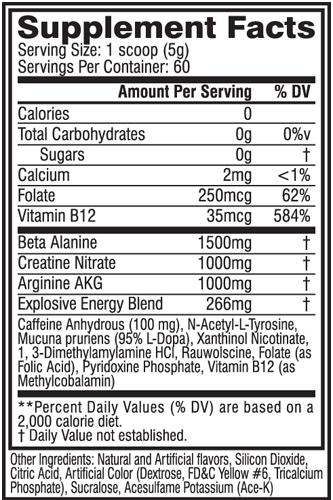 C4 Cellucor Original - 60 doses