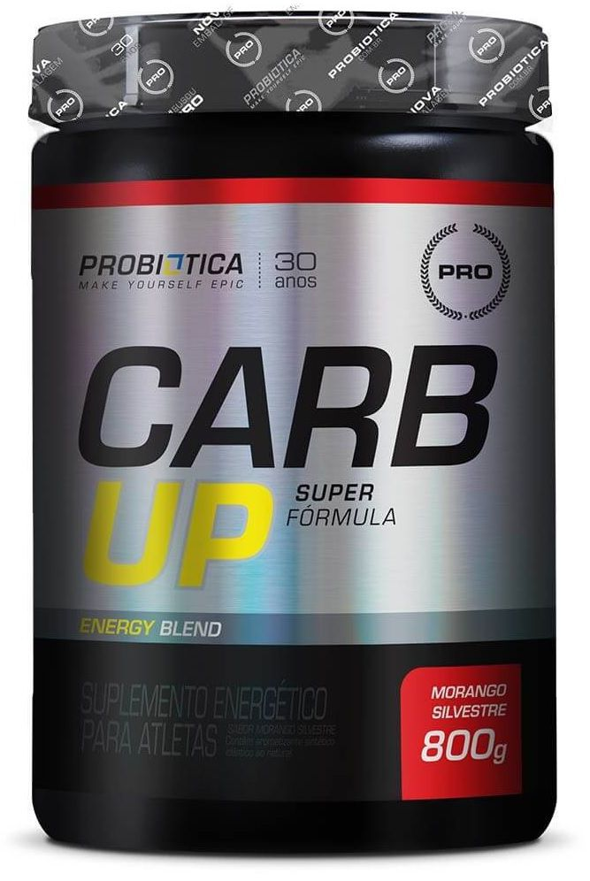 Carb UP Super Formula Probiotica - 800g