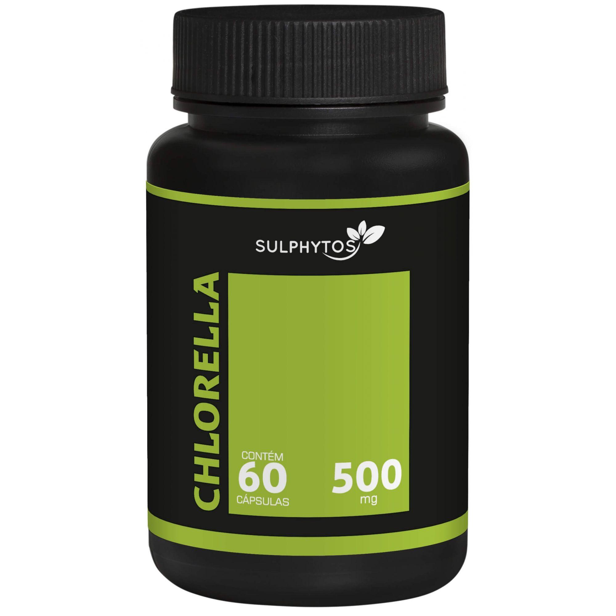 Chlorella 500mg Sulphytos - 60 caps