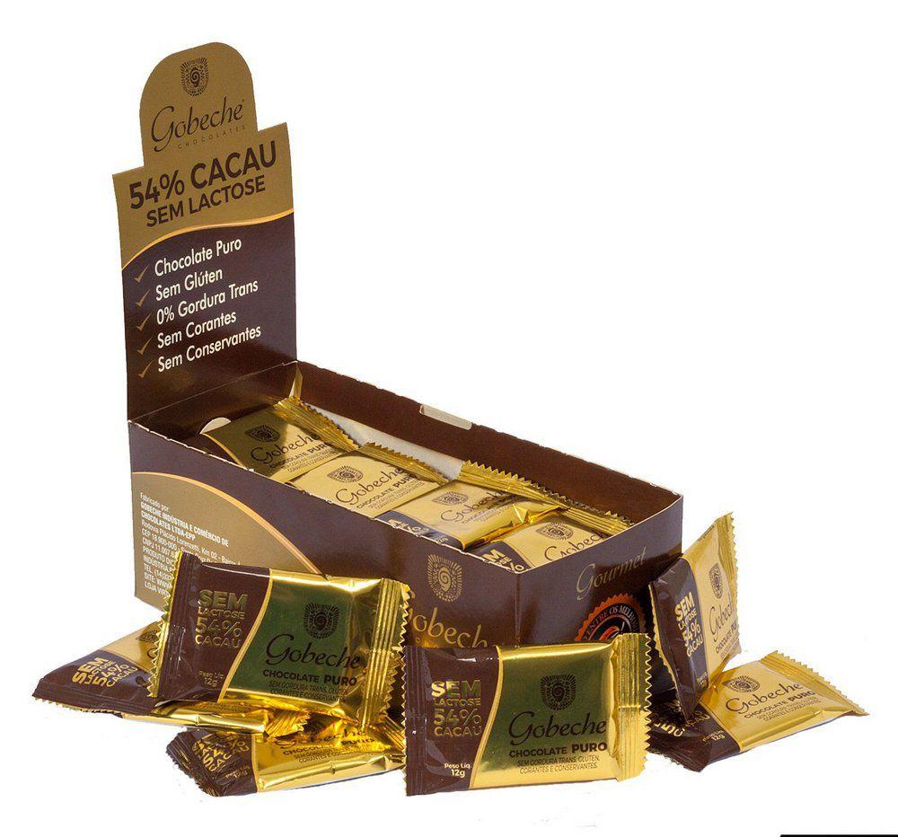 Chocolate Puro Ao Leite Gobeche - 12g