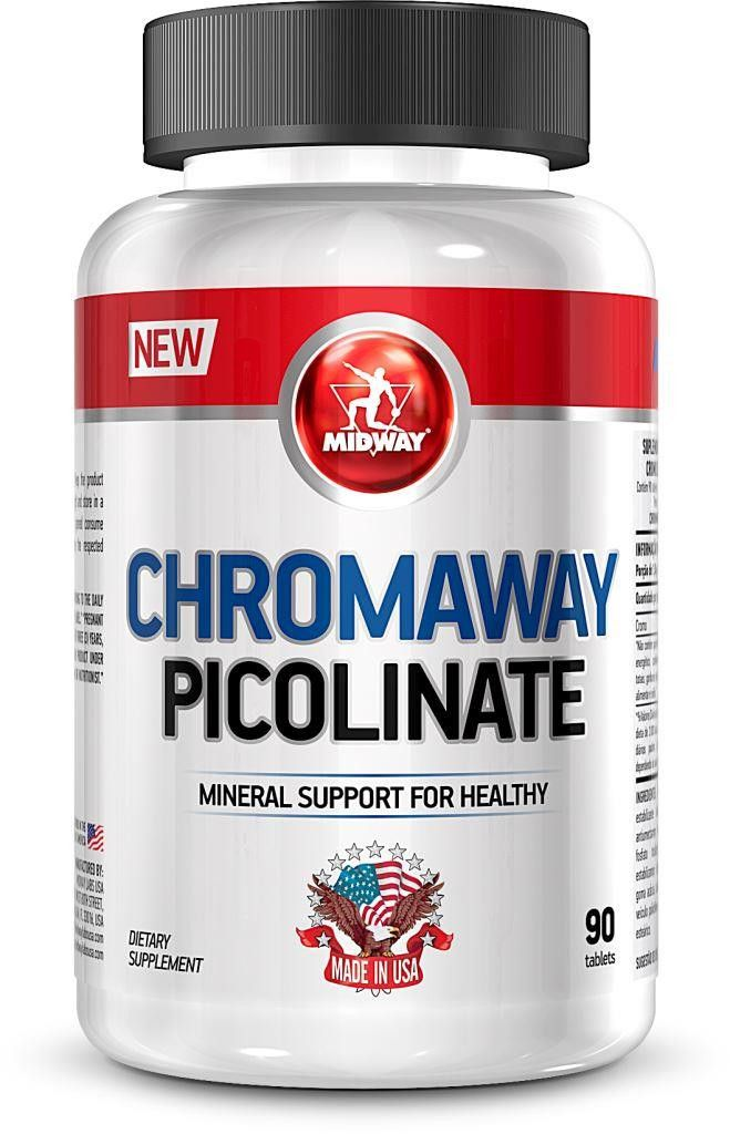 Chromaway Picolinate Midway - 90 tabletes