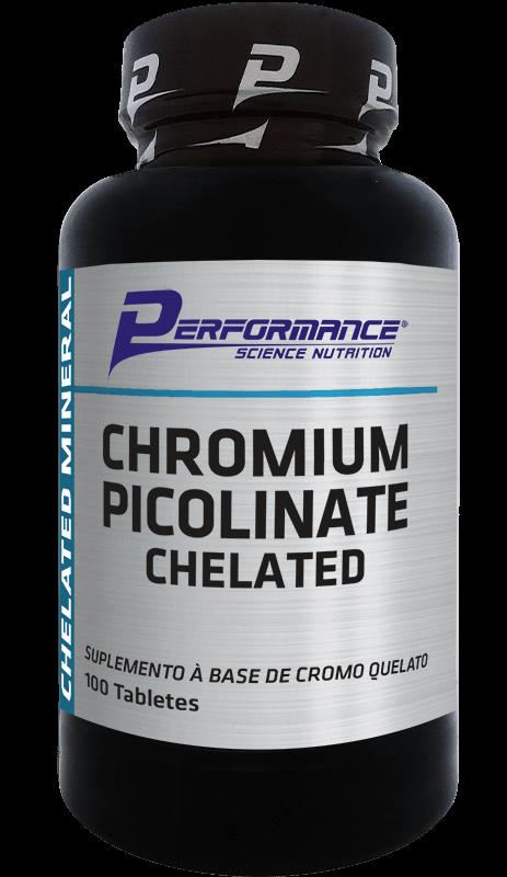 Chromium Picolinate Chelated Performance Nutrition - 100 caps