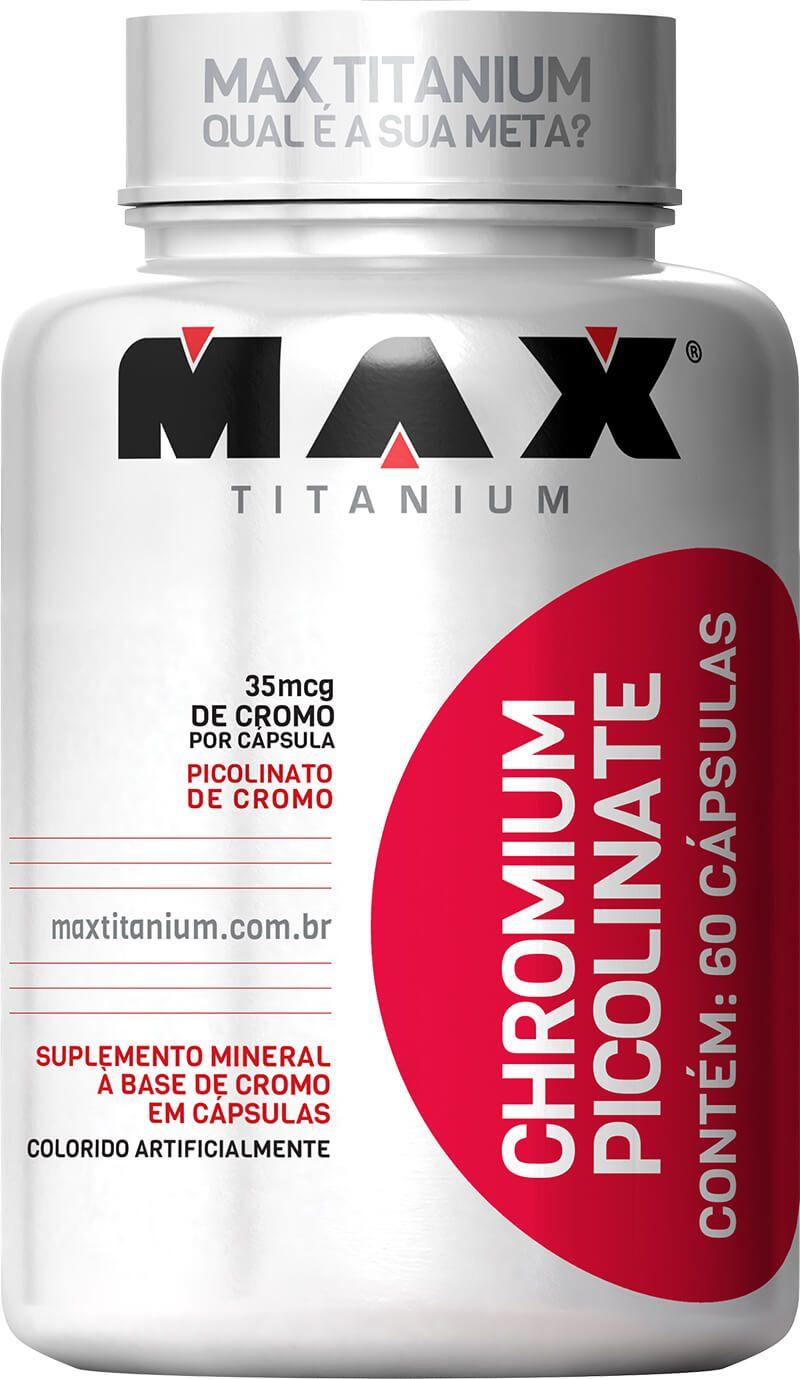 Chromium Picolinate Max Titanium - 60 caps