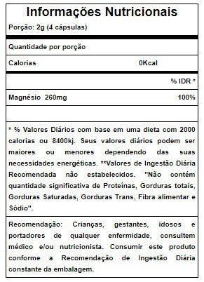 Cloreto de Magnésio P.A Sulphytos - 60 caps