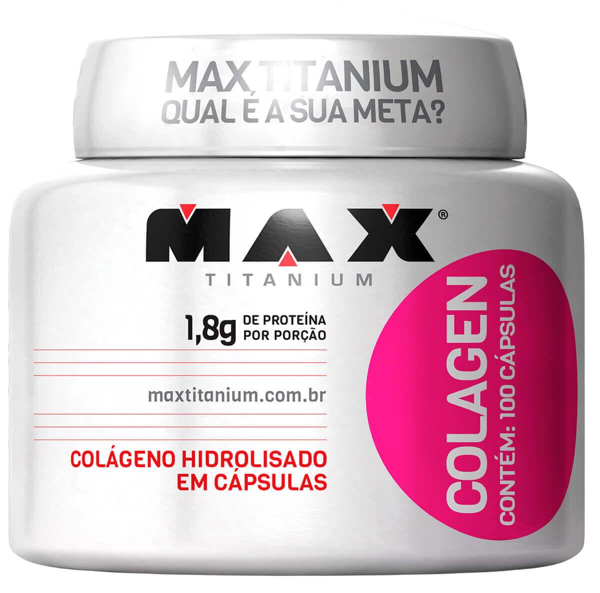 Colagen 500 Max Titanium - 100 caps
