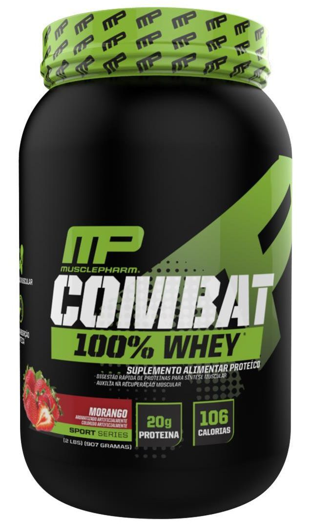 Combat 100% Whey Muscle Pharm - 907g