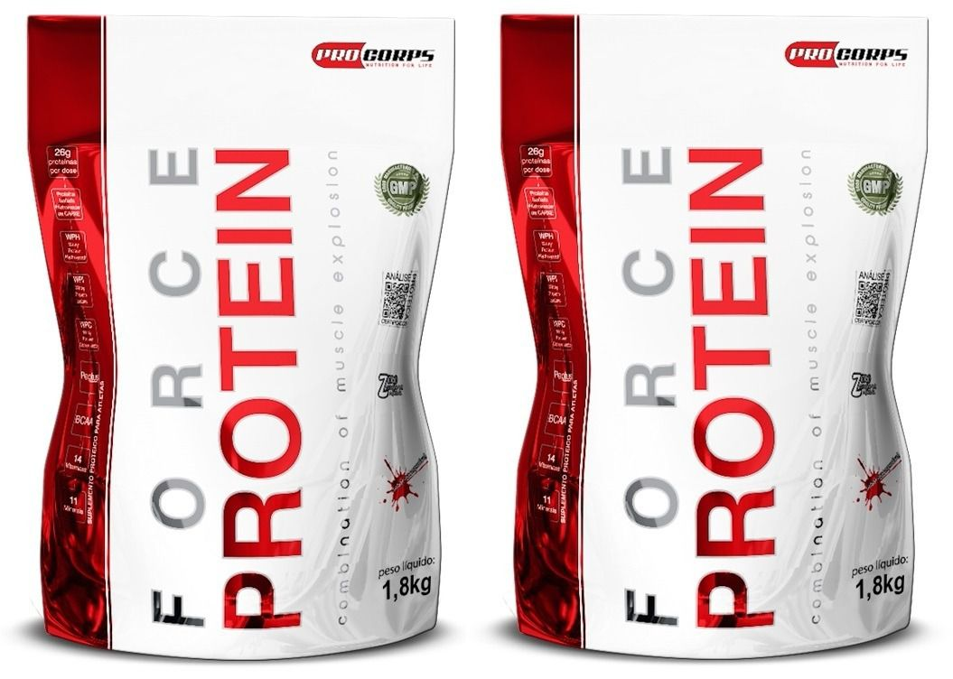 Combo Whey Force Protein Pro Corps 3.6kg