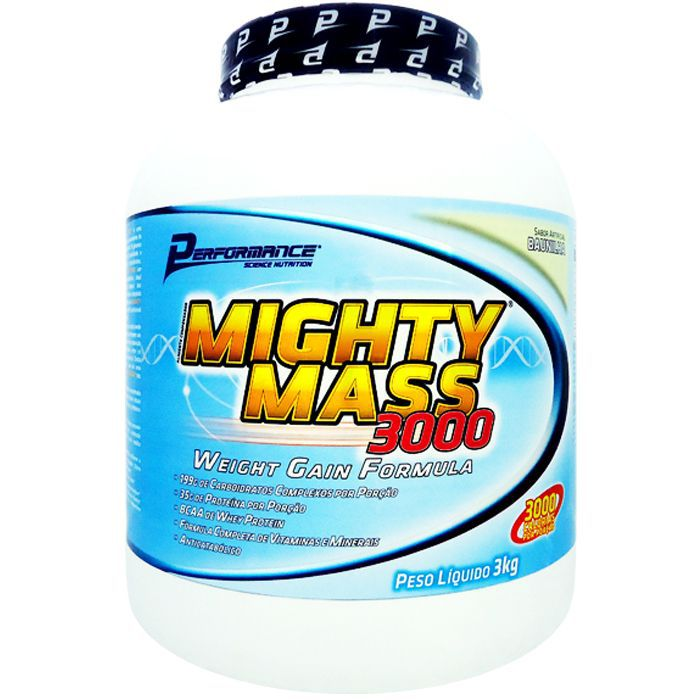 Mighty Mass 3000 Performance Nutrition - 3kg