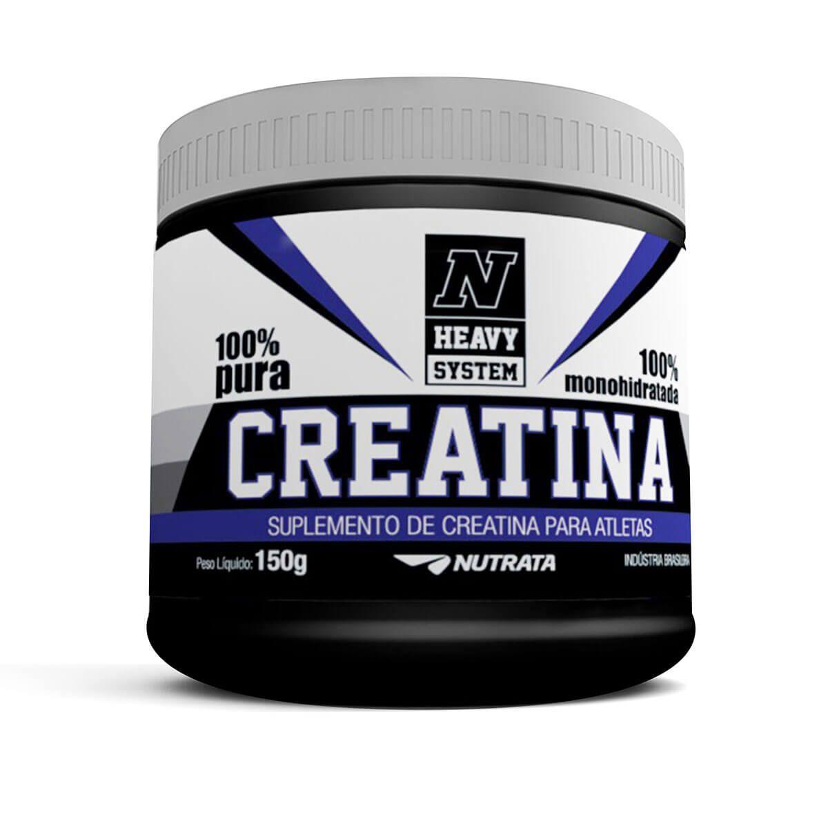 Creatina 100% Pura Nutrata - 150g