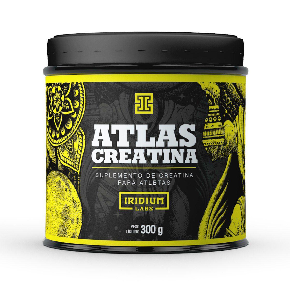 Creatina Atlas Iridium Labs - 300g