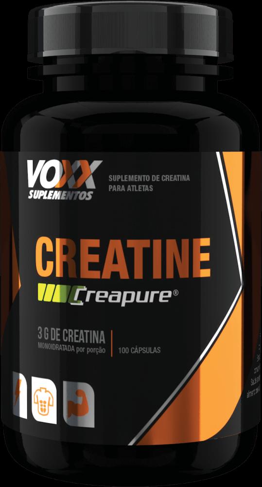 Creatina CREAPURE Voxx Suplementos - 100 caps