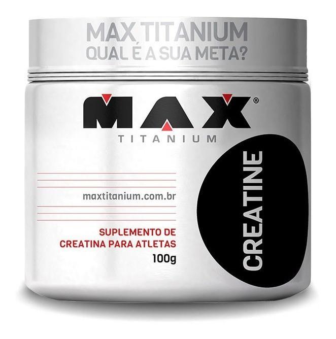 Creatina Max Titanium - 100g