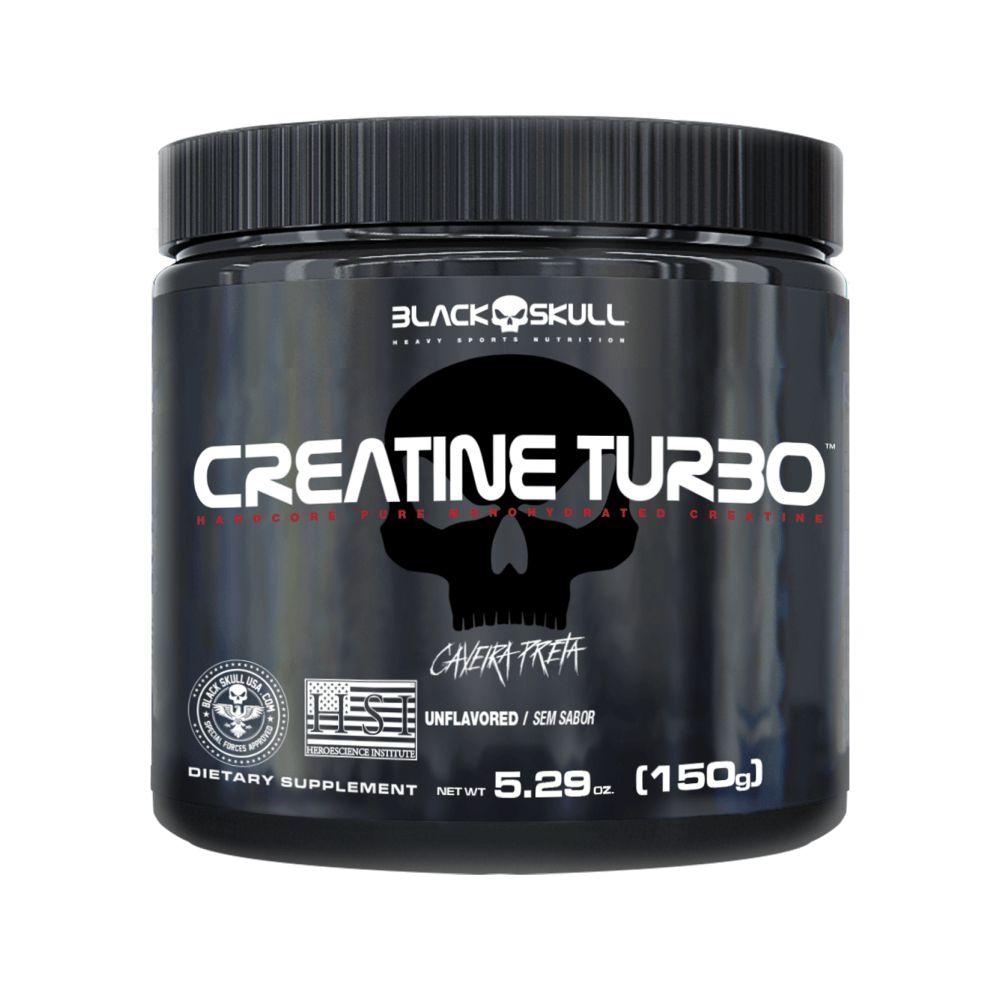 Creatina Turbo Black Skull - 150g