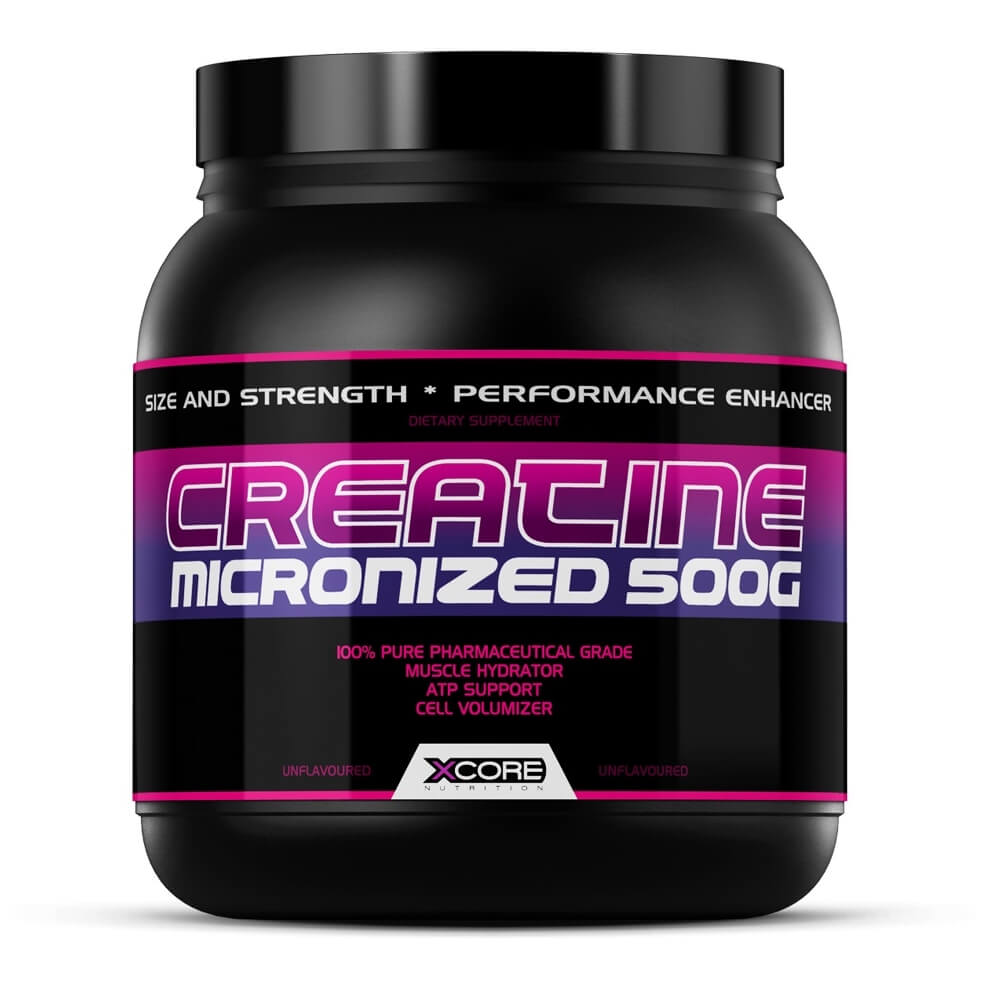 Creatine Micronized XCore Nutrition - 500g