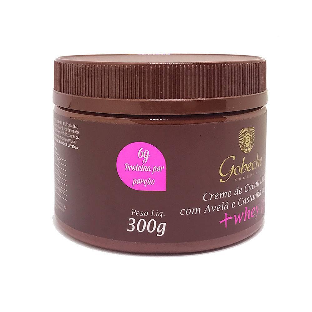 Creme de cacau Diet + Whey protein Gobeche - 300g
