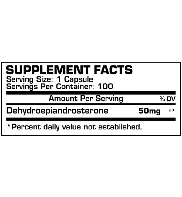 DHEA 50mg Dragon Pharma - 100 caps