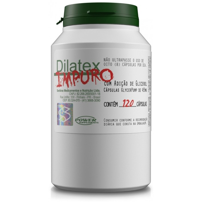 Dilatex IMPURO Power Supplements - 120 caps